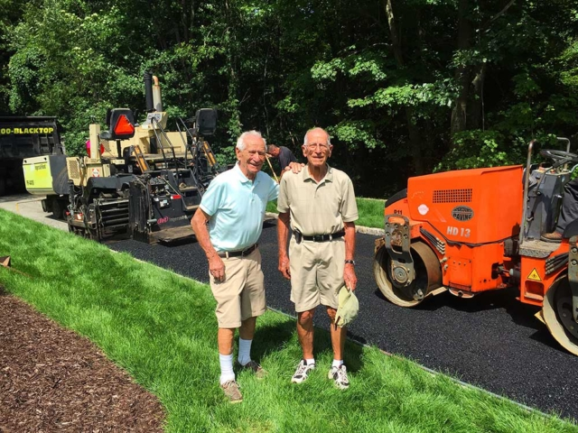 Intercounty Paving founders George and Mike Spano